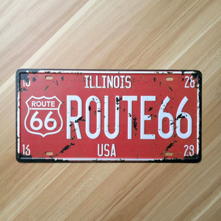 Vintage License Plate MOTO logo Metal painting tin sign retro iron plaque crafts wall art home decor cafe bar poster 15*30CM