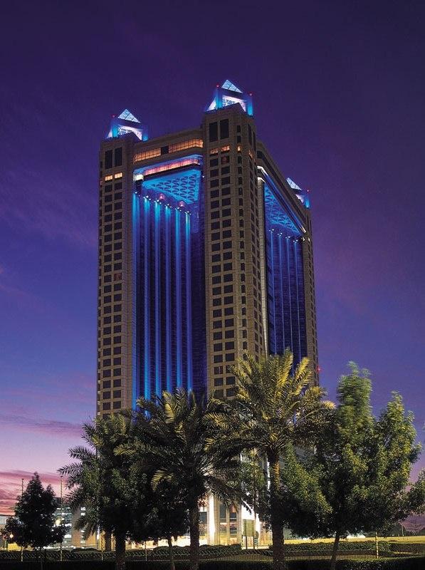 Dubai, United Arab Emerates: Fairmont Dubai February, 2013
