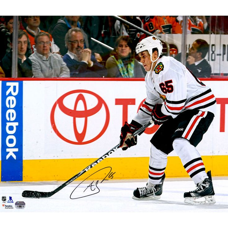 "Andrew Shaw Chicago Blackhawks Fanatics Authentic Autographed 16"" x 20"" NHL Debut Photograph"