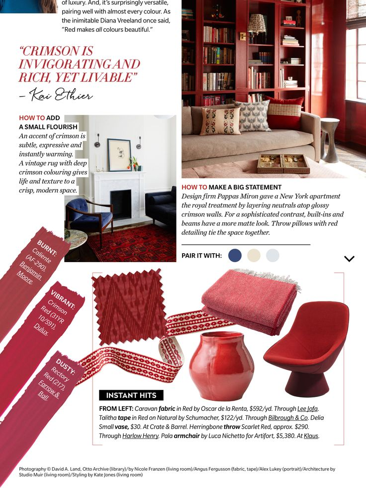 """""""Colour Spotlight"""" from House & Home Magazine, December 2017. Read it on the Texture app-unlimited access to 200+ top magazines."""