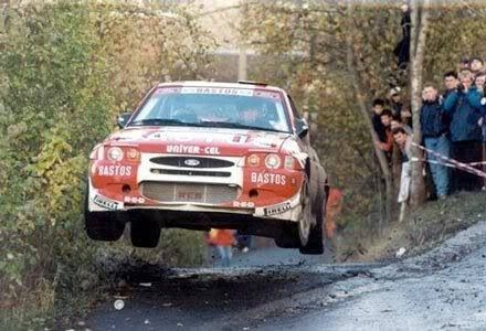 Ford Escort WRC Rally - European Champion Patrick Snijers