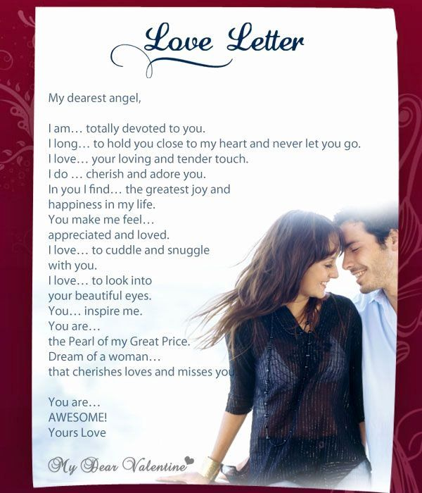 Romantic letters for your girlfriend