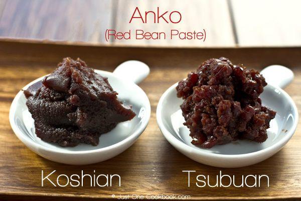 How To Make Anko (Red Bean Paste): 200g (7 oz, a little bit less than 1 cup which is 220g) Azuki beans (Today I used Hokkaido Dainagon Azuki Beans (bigger than regular azuki)) Water 200g (7 oz, 1 cup) granulated white sugar Pinch of salt