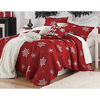 25 best Todo navidad images on Pinterest | Linens, Bedrooms and Girls : christmas bedspreads and quilts - Adamdwight.com