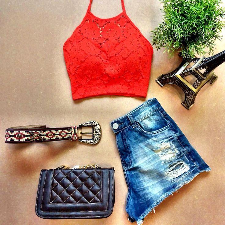 Para o calor que está fazendo não tem nada melhor do que jeans e Cropped com muito estilo 😍💐❤  ️Informações  ✈️ Enviamos para todo o Brasil ✈️  📲📲WhatsApp  (67)9294-5406  (67) 9245-5782  📌📌Lojas físicas  Rua Euclides da Cunha, 646 - Jd dos Estados  Shopping...