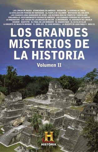 Pero Qué Locura de Libros.: LOS GRANDES MISTERIOS DE LA HISTORIA (Volumen II)