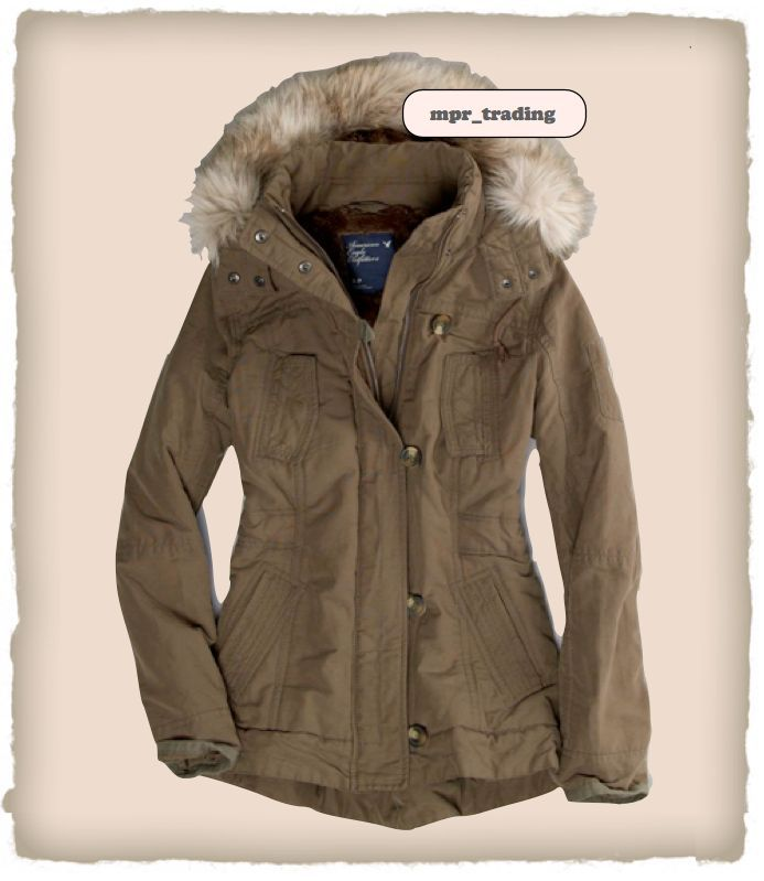 military jackets for women | Women's Faux Fur Hooded Military Coat Jacket Parka Olive XS|Military ...
