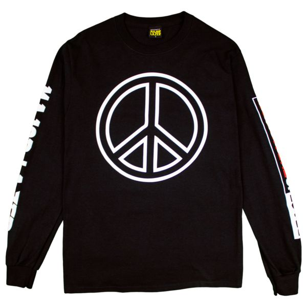 PeaceIsTheMission Longsleeve T-Shirt | Major Lazer | Online Store, Apparel, Merchandise & More