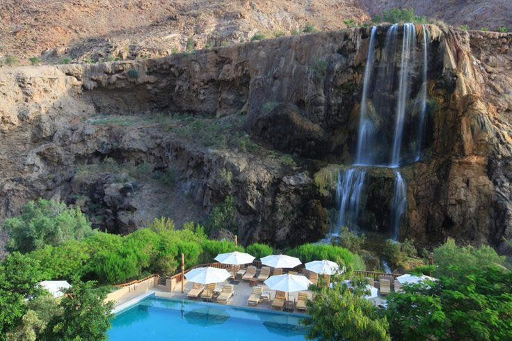 Pool at Evason Ma'In Hot Springs Hotel & Spa, Jordan