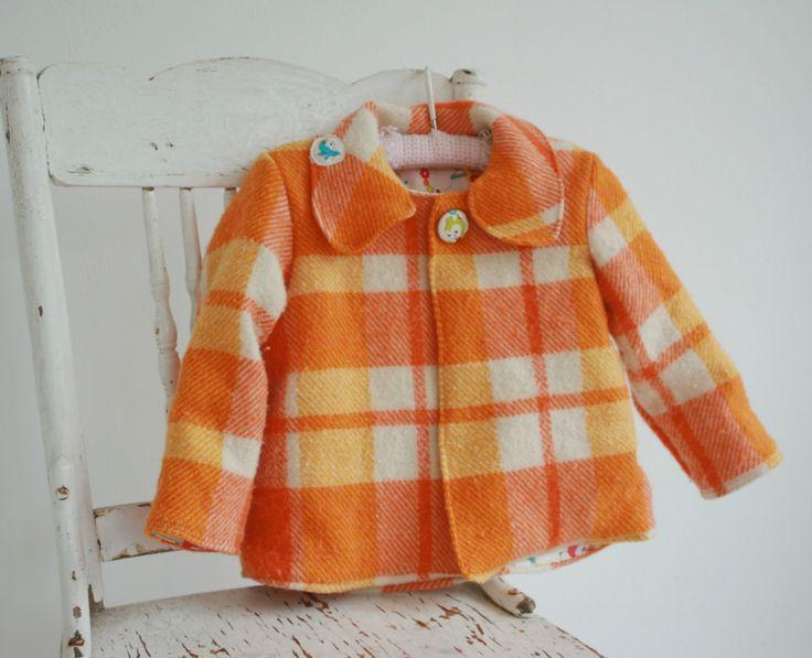 Wool & cotton coat 2 yrs   Felt