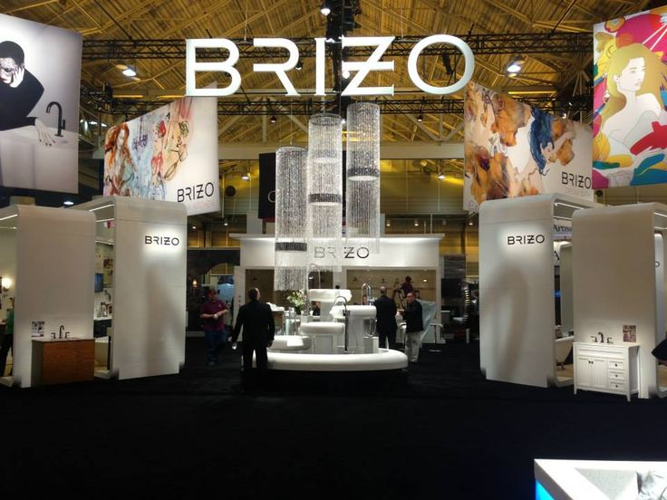 Brizo uses a striking water feature to make waves at the 2013 Kitchen and  Bath Industry Show 152 best Stands Design images on Pinterest   Exhibition stands  . Kitchen And Bath Convention 2013. Home Design Ideas