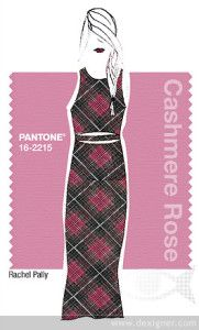 Fall 2015 - fashion colors: Cashmere Rose