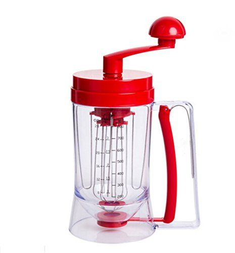 Hosaire Manual Pancake Machine Cupcake Funnel Batter Dispenser ** Want additional info? Click on the image. (This is an affiliate link)