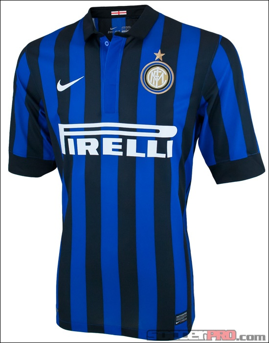 The Nike Inter Milan Home Jersey classic, legendary.