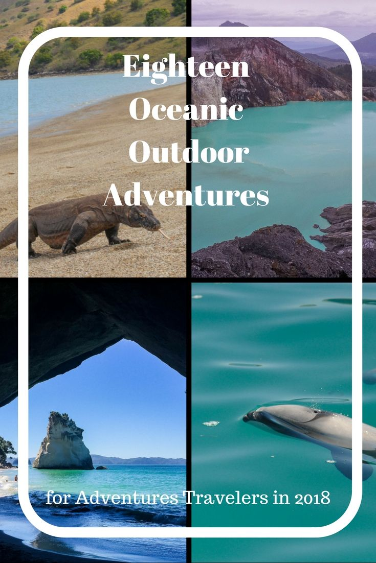 Looking for an Outdoor Adventure in 2018? Check out these 18 Oceanic Outdoor Adventures from 18 different travel bloggers.  These adventures are from all over Oceanic from Australia to New Zealand to Tahiti.  These adventures explore the great outdoors of Oceanic. via @matdifference