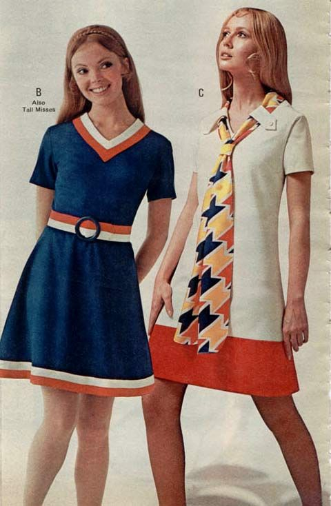 Misses Fashion From A 1970 Catalog Found On 1970s Women 39 S Fashion