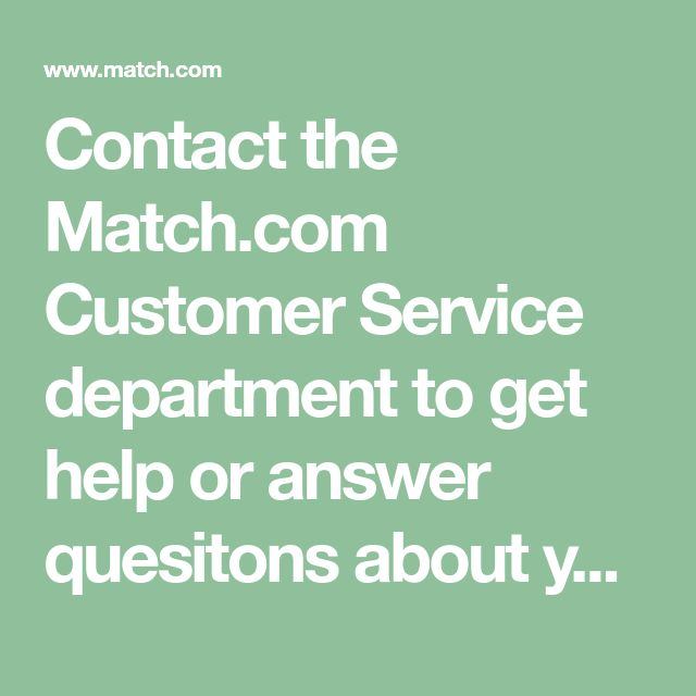 Contact the Customer Service department to get