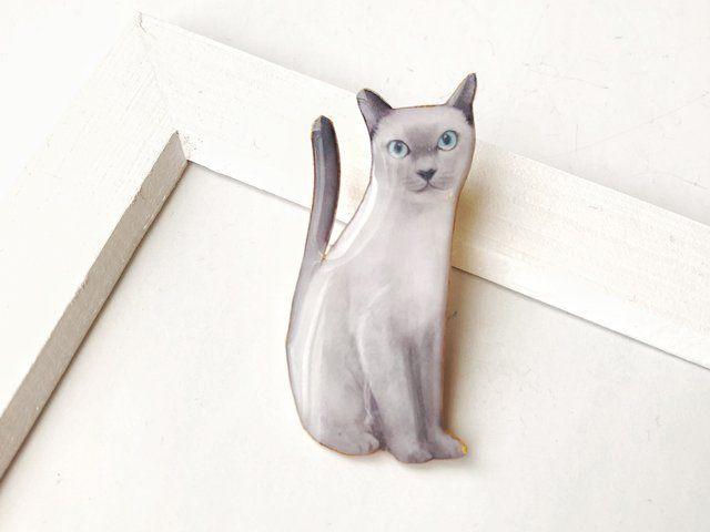 プラチナ色のネコさん(ボックス入)