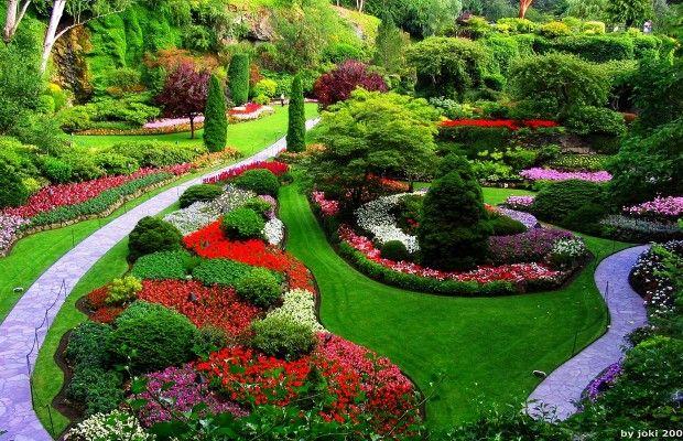 Conoce el Jardín Butchart en Canada. - lugares fanstasticos - lugares fanstasticos