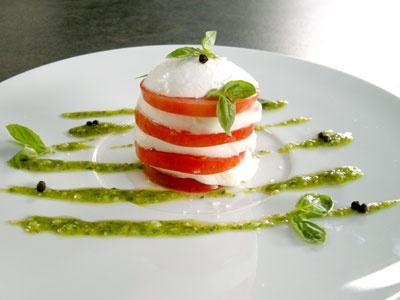 tomate+mozarella+pesto