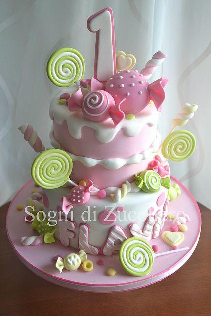 pink candy cake | Maria Letizia Bruno | Flickr