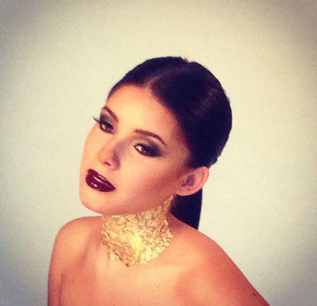 My last shoot @Davinia Huntley@DFMA #makeup #goldengoddess #mua #motd #lotd #makeupartist #photoshoot #model #shoot #lips #darklips #eyeliner #bobbibrown #mac #smashbox #eyelashes #hair #hairstyle #smokyeye #maybelline #colortattoo #nail #goldleaf #goldenmakeup #goldengoddessmakeup