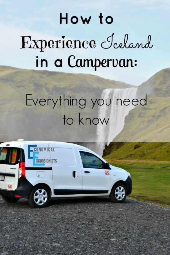 Campervanning in Iceland