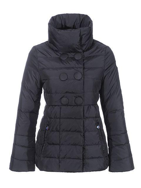 Moncler Women 2012 New Johanna Short Down Jacket Black - : off discount  code: happywinter