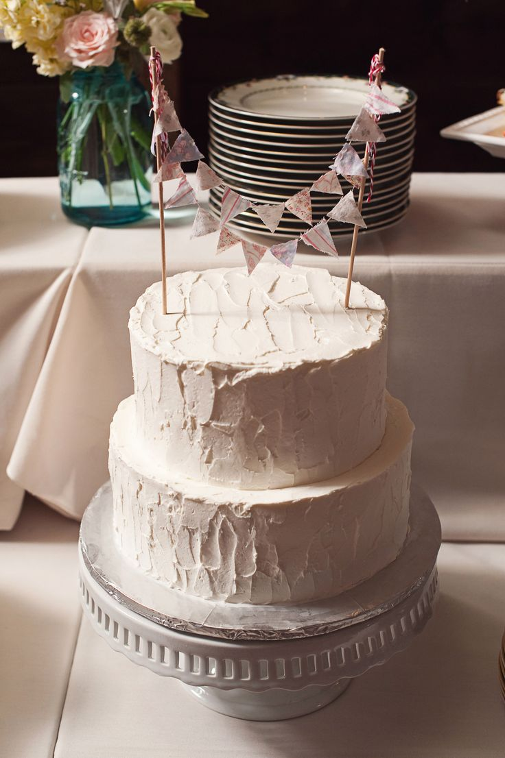 Let them eat cake rustic wedding chic - Debbie S Cake A 2 Tier Rustic Style Wedding Cake
