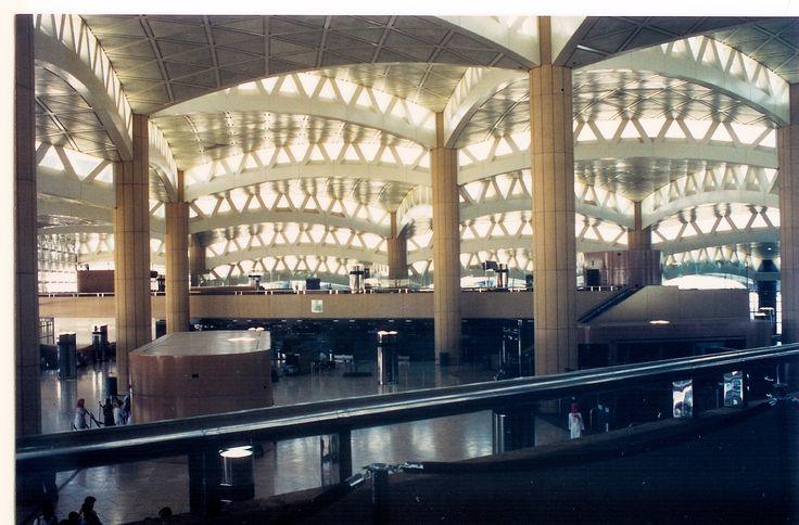 Interior, Riyadh King Khalid International Airport.