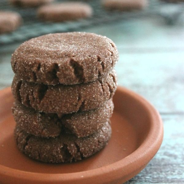 Mexican Hot Chocolate Shortbread are full of deep, spicy chocolate flavors that beg to be eaten!