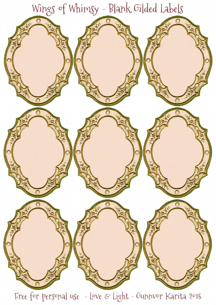 The  Best Blank Labels Ideas On   Free Printable