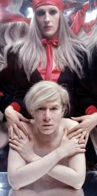Downtown Underground-Candy Darling & Andy Warhol.