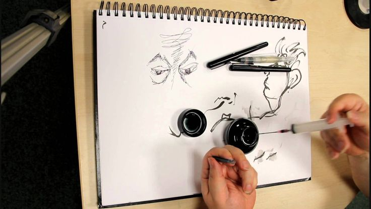 pentel brush pen refill instructions