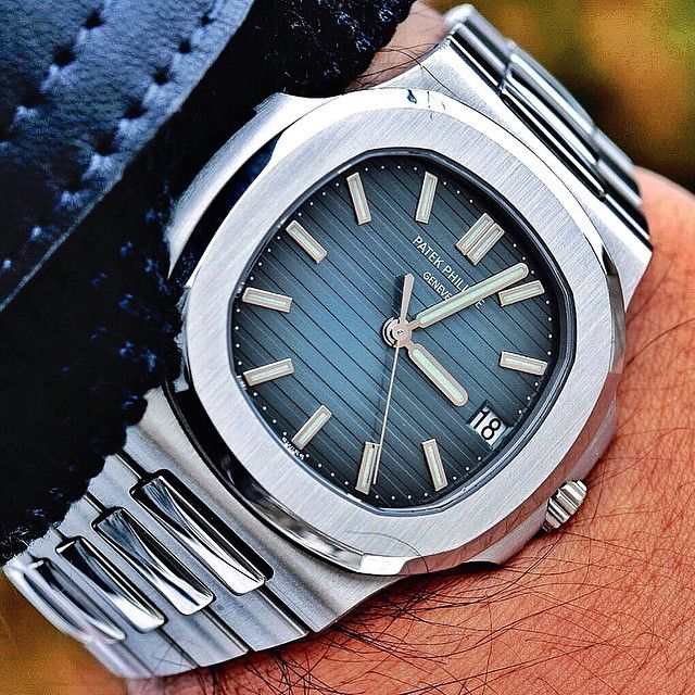 The Patek Philippe 5711 on the wrist of @YouCanNeverHaveEnough