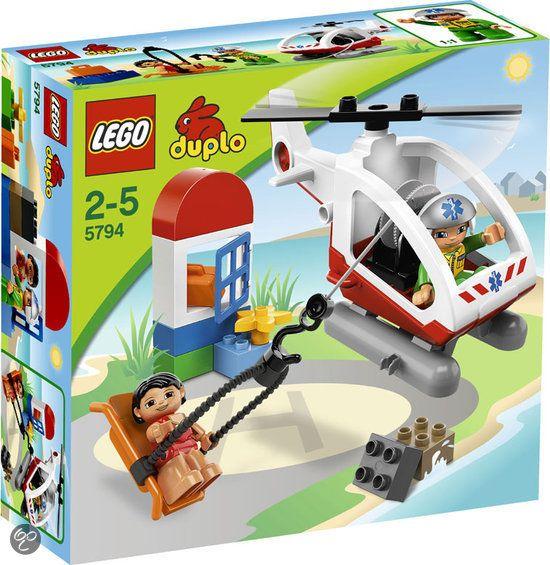 LEGO Duplo Ville Reddingshelikopter - 5794