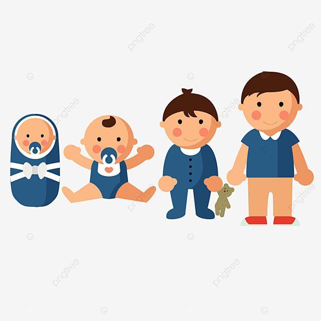 Gambar Vektor Tahap Pertumbuhan Bayi Anak Anak Clipart Anak Masa Kecil Png Dan Vektor Dengan Latar Belakang Transparan Untuk Unduh Gratis Baby Growth Kids Vector Kids Clipart