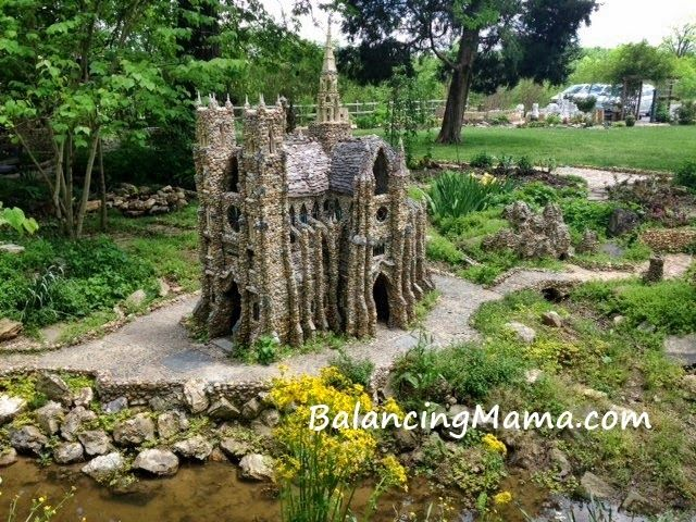 Whimsical Folk Art Castle Garden In Calhoun GA