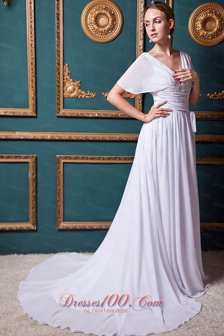 8 best images about wedding dresses on pinterest beaded chiffon alluring chiffonsatin a line v neck natural waistline wedding dress beautiful maternity ombrellifo Image collections