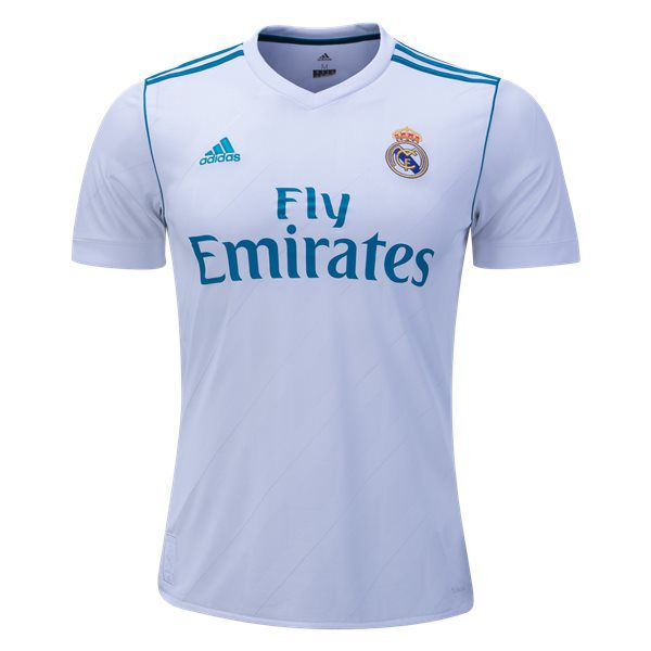adidas Men's Real Madrid 17/18 Home Jersey White