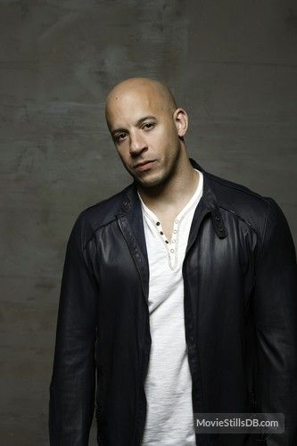 Fast & Furious - Promo shot of Vin Diesel