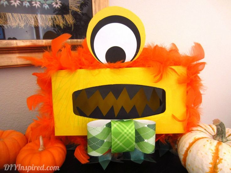 Easy to Follow How To Make A Monster Tissue Box!