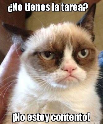 Meme Maker - ¿No tienes la tarea? ¡No estoy contento!