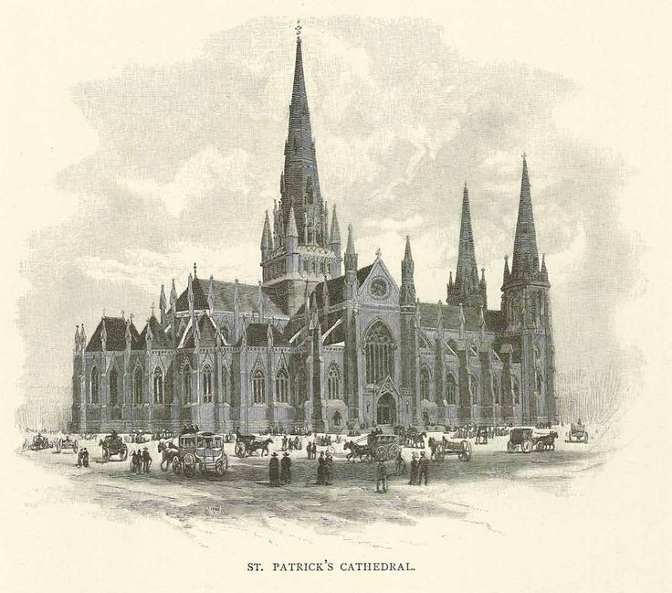 St Patrick's Cathedral Melbourne 1886