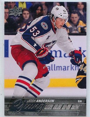nice 2015-16 UPPER DECK SERIES 1 YOUNG GUNS JOSH ANDERSON #217 ROOKIE RC - For Sale View more at http://shipperscentral.com/wp/product/2015-16-upper-deck-series-1-young-guns-josh-anderson-217-rookie-rc-for-sale/