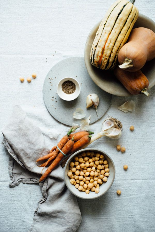 Feast your eyes on this spicy chickpea stew with quinoa pilaf by Amy Chaplin via Brooklyn based blogger and food stylist/photographer/writer Lindsey Love.
