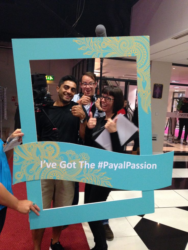 Our lovely Channel 4 Camera Crew in the #PayalPassion Frame!