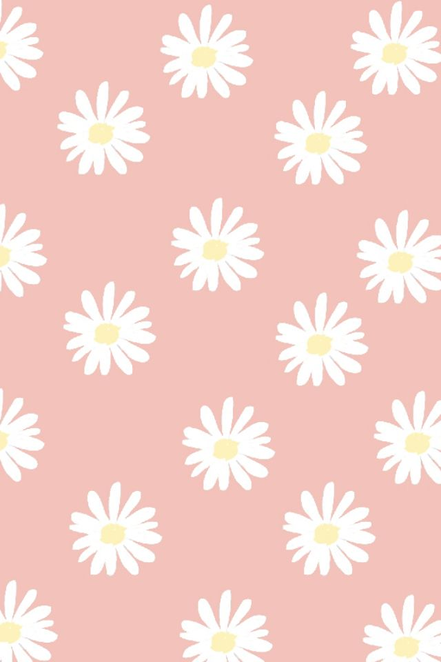 Cute wallpaper | pattern | Pinterest | Daisies, Wallpapers ...
