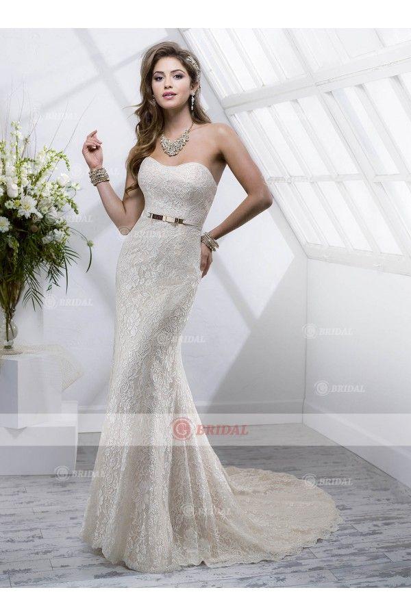 Column sweetheart zipper floor length lace sleeveless holiday dresses