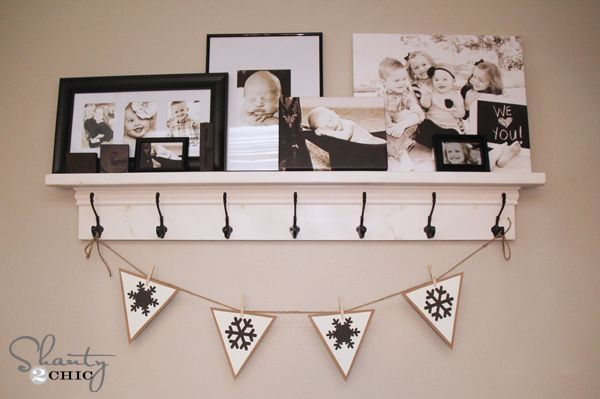 MORE Free Printable Banners ~ Numbers & Shapes!!!   These are AWESOME!! Takes little effort and pennies to make... Try it!!